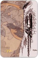 Рetit Lenormand card - Тридевятое Царство